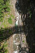 Gorge Creek Falls, Ross Lake National Recreation Area, Washington, USA.