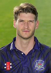 Gloucestershire player, David Payne - Photo mandatory by-line: Dougie Allward/JMP - 07966 386802 - 10/04/2015 - SPORT - CRICKET - Bristol, England - Bristol County Ground - Gloucestershire County Cricket Club Photocall.