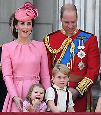 London: Princess Charlotte & Prince George - 17 June 2017