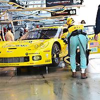 #64 Chevrolet Corvette C6R, Corvette Racing (drivers: Gavin, Beretta, Papis) GT1 (DNF) at Le Mans 24H 2007