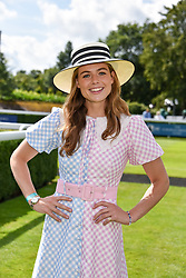 29 July 2021 - The QATAR Goodwood Festival Ladies Day at Goodwood Racecourse, West Sussex.<br /> Picture Shows - Rosie Tapner.<br /> <br /> NON EXCLUSIVE - WORLD RIGHTS