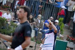 June 19, 2018 - L'Aquila, Italy - Daniele Bracciali during match between Facundo Bagnis (ARG)/Ariel Behar (URU) and Andrea Arnaboldi/Daniele Bracciali (ITA) during day 4 at the Internazionali di Tennis Citt dell'Aquila (ATP Challenger L'Aquila) in L'Aquila, Italy, on June 19, 2018. (Credit Image: © Manuel Romano/NurPhoto via ZUMA Press)