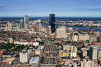 Massachusetts Turnpike & Back Bay Skyline