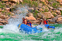 Whitewater rafting, Hermit Rapid, Grand Canyon, Grand Canyon National Park, Arizona USA