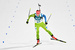 February 10, 2018 - Pyeongchang, South Korea - 180210 Anja Erzen of Slovenia competes in Women's Biathlon 7,5 km Sprint during day one of the 2018 Winter Olympics on February 10, 2018 in Pyeongchang..Photo: Petter Arvidson / BILDBYRN / kod PA / 87614 (Credit Image: © Petter Arvidson/Bildbyran via ZUMA Press)