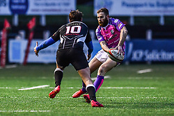 Pontypridd's Geraint Walsh in action - Mandatory by-line: Craig Thomas/Replay images - 30/12/2017 - RUGBY - Sardis Road - Pontypridd, Wales - Pontypridd v Bedwas - Principality Premiership