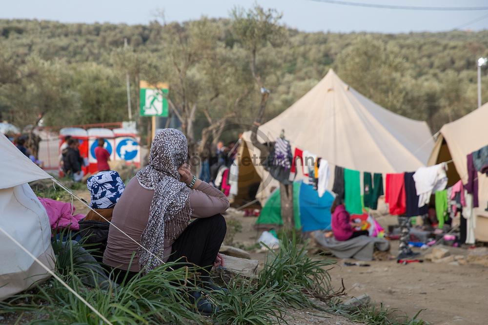 """Moria, Lesvos, Greece - 01.03.2016        <br /> <br /> Better Days in Moria Refugee camp on the Greek island Lesvos. Besides the official refugee camp run volunteers the """"Better days for Moria""""-Camp as another refugee shelter.<br /> <br /> Better Days in Moria Flüchtlingsunterkunft auf der griechischen Insel Lesbos. Neben dem offiziellen Fluechtlingslager, betreiben freiwillige Helfer das """"Better days for Moria""""-Camp als weitere Unterkunft.<br /> <br /> Foto: Bjoern Kietzmann"""