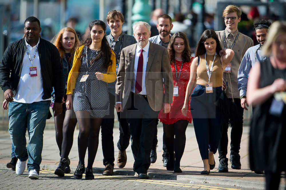 **FILE PICTURE - Monday December 21 marks 100 days since Jeremy Corbyn became leader of the Labour Party**© Licensed to London News Pictures. 29/09/2015. Brighton, UK. Labour party leader JEREMY CORBYN arriving to deliver his leader speech on day three of the 2015 Labour Party Conference, held at the Brighton Centre in Brighton, East Sussex.  Photo credit: Ben Cawthra/LNP