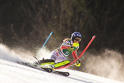 Lena Duerr (GER) during the Ladies' Slalom at 56th Golden Fox event at Audi FIS Ski World Cup 2019/20, on February 16, 2020 in Podkoren, Kranjska Gora, Slovenia. Photo by Matic Ritonja / Sportida