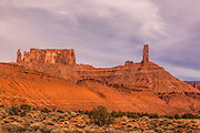 Castle Valley Southeastern Utah - Priest, Nuns, Rectory and Castle Rock Eormations