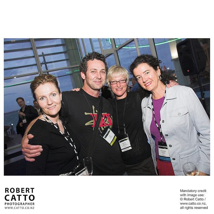 Sandy Gildea;Tim Riley;Marion Heppner;Penelope Borland at the Spada Conference 06 at the Hyatt Regency Hotel, Auckland, New Zealand.<br />