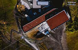 THEMENBILD - 3K Talstation der Seilbahnverbindung Kaprun-Maiskogel-Kitzsteinhorn, aufgenommen am 11. Oktober 2019, Kaprun, Österreich // 3K valley station of the cable car connection Kaprun-Maiskogel-Kitzsteinhorn on 2019/10/11, Kaprun, Austria. EXPA Pictures © 2019, PhotoCredit: EXPA/ JFK