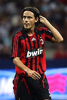 Fotball<br /> Italia<br /> Foto: Inside/Digitalsport<br /> NORWAY ONLY<br /> <br /> Milano 14.08.2007<br /> Trofeo Tim tra Inter Milan Juventus<br /> <br /> Filippo Inzaghi (Milan)