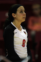 01 September 2012:  Danielle Donahue during an NCAA womens volleyball match between the Oregon State Beavers and the Illinois State Redbirds at Redbird Arena in Normal IL