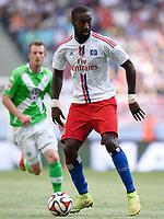 Fotball<br /> Tyskland<br /> 26.07.2014<br /> Foto: Witters/Digitalsport<br /> NORWAY ONLY<br /> <br /> Johan Djourou (HSV)<br /> Fussball, Telekom Cup 2014, Hamburger SV - VfL Wolfsburg 5:6 n.E.