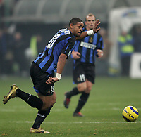 Milano 28/11/2004 Campionato Italiano Serie A<br /> <br /> Inter Juventus 2-2<br /> <br /> Adriano Inter <br /> <br /> Foto Andrea Staccioli Graffiti