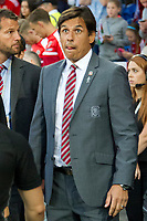 Football - 2017 / 2018 _Wales v Austria_FIFA World Cup Qualifier 2018<br /> <br /> Wales manager Chris Coleman before the game --- at Cardiff City Stadium.<br /> <br /> COLORSPORT/WINSTON BYNORTH