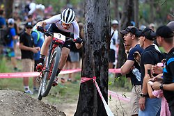 New Zealand's Anton Cooper competes in the Men's Cross-country at the Nerang Mountain Bike Trails during day eight of the 2018 Commonwealth Games in the Gold Coast, Australia.