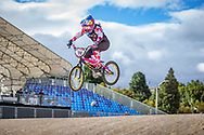 2021 UCI BMXSX World Cup<br /> Round 3 and 4 at Bogota (Colombia)<br /> ^we#100 PAJON, Mariana (COL, WE) GW, Nologo, 100%, Shimano, Red Bull, AnswerBMX
