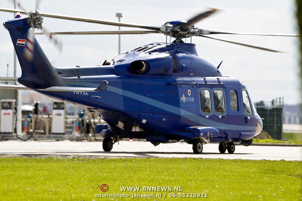 NLD/Amsterdam/20100505 - Augusta Eurocopter politie op Schiphol