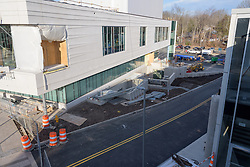 Key Plan for Bridgeport Hospital Park Avenue Campus Outpatient Center. Architect: Shepley Bulfinch. Contractor: Gilbane Building Company, Glastonbury, CT. James R Anderson Photography, New Haven CT photog.com. Date of Photograph 07 October 2015  Submission 21  © James R Anderson