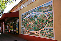 Sonoma Plaza Mural - Sonoma Plaza Mural - Sonoma is a historically significant city in Sonoma Valley, Sonoma County, California, USA, surrounding its historic town plaza, a remnant of the town's Mexican colonial past. It was the capital of the short-lived California Republic. Today, Sonoma is a center of the state's wine industry for the Sonoma Valley Wine Appellation.