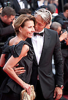 Hanne Jacobsen  and Mads Mikkelsen at the gala screening for the film The Unknown Girl (La Fille Inconnue) at the 69th Cannes Film Festival, Wednesday 18th May 2016, Cannes, France. Photography: Doreen Kennedy