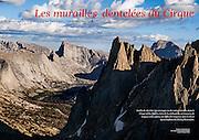 Les Alpes: Les Murailles Dentelées du Cirque (November 2015)