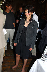 EMMA HOPE at a party to celebrate the publication of Title Deeds by Liza Campbell at the First Floor, 186 Portobello Road, London on 14th June 2006.<br /><br />NON EXCLUSIVE - WORLD RIGHTS
