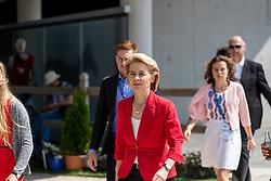 LEYEN Ursula von der (Bundesmionisterin der Verteidigung)<br /> Aachen - CHIO 2018<br /> Deutsche Bank Preis <br /> Grand Prix Kür CDIO<br /> 22. Juli 2018<br /> © www.sportfotos-lafrentz.de/Stefan Lafrentz