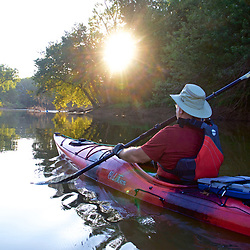 Paddling From Whites Ferry