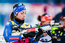 March 8, 2019 - –Stersund, Sweden - 190308 Lisa Vittozzi of Italy during warm up ahead of the Women's 7.5 KM sprint during the IBU World Championships Biathlon on March 8, 2019 in Östersund..Photo: Petter Arvidson / BILDBYRÃ…N / kod PA / 92247 (Credit Image: © Petter Arvidson/Bildbyran via ZUMA Press)