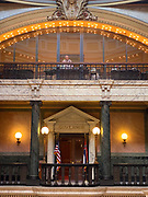 6/28/2020 Jackson MS. <br />  Pictured if the Mississippi Governors Mansion flying the current state flag that bears the Confederate symbol on the morning of the historic legislator vote. The Mississippi State legislators gathered at the State Capitol Sunday for a historic vote on HB1796. The MS House of Representatives  passed the Bill91-23 and the MS Senate voted 31-14 in favor of changing the flag. The Bill would allow for the redesign of the Mississippi State Flag, the current flag has the Confederate symbol on it. Mississippi is the last State in the Nation to still have the racist Confederate symbol on its state flag. Black Lives Matter advocates celebrated the historic vote outside the Capitol. The Mississippi House of Representatives passed the Bill and so did the Mississippi Senate, Governor Tate Reeves said he would sign it if it passed. Photo © Suzi Altman