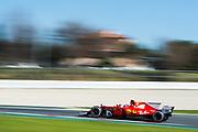 March 7-10, 2017: Circuit de Catalunya. Kimi Raikkonen (FIN), Scuderia Ferrari, SF70H