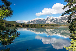 Lake Edith, Reflection, Jasper National Park