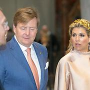 LUX/Luxembug/2 Maxima0180524 - Staatbezoek Luxemburg 2018 dag 2, Willem-Alexander, partner Maxima