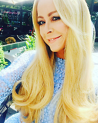 """Jenny Elvers releases a photo on Instagram with the following caption: """"#ohmygoditsfashionweek#alwayssmile #fashionweek #fashion #friends #happyme #alwaysontherun #motherandsonontour #blondhair #blond #berlin @reichertplus @fourflavor @_celebritynetwork_ @mgm.models @shanrahimkhangermany"""". Photo Credit: Instagram *** No USA Distribution *** For Editorial Use Only *** Not to be Published in Books or Photo Books ***  Please note: Fees charged by the agency are for the agency's services only, and do not, nor are they intended to, convey to the user any ownership of Copyright or License in the material. The agency does not claim any ownership including but not limited to Copyright or License in the attached material. By publishing this material you expressly agree to indemnify and to hold the agency and its directors, shareholders and employees harmless from any loss, claims, damages, demands, expenses (including legal fees), or any causes of action or allegation against the agency arising out of or connected in any way with publication of the material."""