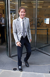 April 16, 2018 - London, London, United Kingdom - Image licensed to i-Images Picture Agency. 16/04/2018. London, United Kingdom. Sir Cliff Richard leaving the High Court in London as his case against the BBC continues. (Credit Image: © i-Images via ZUMA Press)