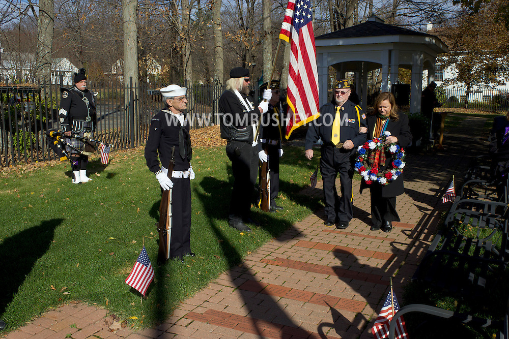 Wurtsboro - American Legion Post 1266 holds a Veterans Day service at at Veterans Park on Nov. 11, 2013.