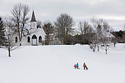 Pinecrest Historical Village near Manitowoc, Wisconsin March 2018  Photo by Mike Roemer