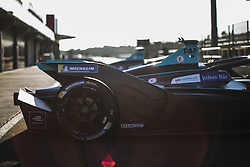 October 17, 2018 - Valencia, Spain - 17 PAFFET Gary (gbr), HWA RACELAB during the Formula E official pre-season test at Circuit Ricardo Tormo in Valencia on October 16, 17, 18 and 19, 2018. (Credit Image: © Xavier Bonilla/NurPhoto via ZUMA Press)