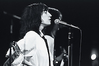 1976 --- Patti Smith Performing on Saturday Night Live --- Image by © Owen Franken