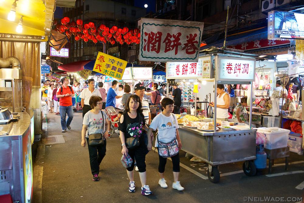 Busy Raohe Night Market