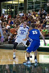 23 June 2012: Tanner Williams.  Illinois Basketball Coaches Association (IBCA) All Star game at Shirk Center, Illinois Wesleyan, Bloomington, IL