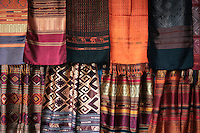 Chiang Mai Sunday Market Thai Silk - The Sunday Market (sometimes called the weekend market) takes place in the Tapae Gate area and stretches into the middle of the old city. You can find traditional Thai clothing, silk and local crafts at this market and it's a good experience to simply check out the different local foods available here.