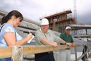 2002 Miami Hurricanes Men's & Women's Basketball Ryder Center/Convocation Center Construction<br /> <br /> Caneshooter Archive
