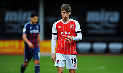 George Lloyd of Cheltenham Town - Mandatory by-line: Nizaam Jones/JMP - 20/02/2021 - FOOTBALL - Jonny-Rocks Stadium - Cheltenham, England - Cheltenham Town v Bradford City - Sky Bet League Two
