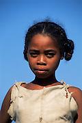 Antandroy girl, portrait Southern Madagascar