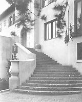 1925 Front stairway to 1847 Camino Palmero