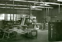 1972 Carpentry shop at General Service Studios
